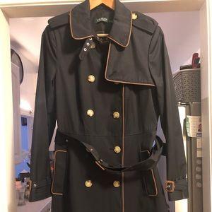 *Brand New*  Ralph Lauren  Twill Trench Coat